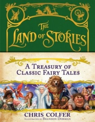 A Treasury of Classic Fairy Tales, Chris Colfer