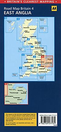 AA Road Map Britain East Anglia - Produktdetailbild 1