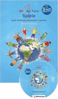 ABC der Tiere, Neubearbeitung 2016: 1. Schuljahr, Spiele zum individualisierten Lernen · Basistraining, m. CD-ROM, Alexandra Schobert