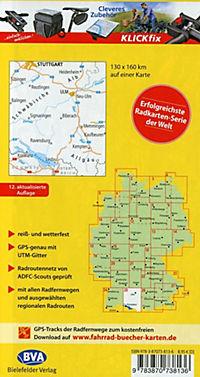 ADFC-Radtourenkarte 25 Bodensee Schwäbische Alb 1:150.000 - Produktdetailbild 1