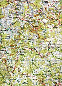 ADFC-Radtourenkarte 25 Bodensee Schwäbische Alb 1:150.000 - Produktdetailbild 2
