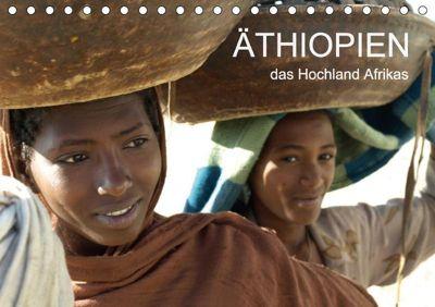 Äthiopien - das Hochland Afrikas (Tischkalender 2018 DIN A5 quer), Ronald Siller
