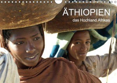 Äthiopien - das Hochland Afrikas (Wandkalender 2018 DIN A4 quer), Ronald Siller