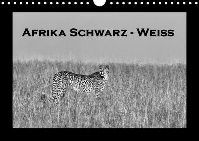 Afrika Schwarz - Weiss (Wandkalender 2018 DIN A4 quer), Angelika Stern
