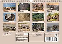 Afrikas Tierwelt - Wilde Elefanten (Wandkalender 2018 DIN A4 quer) Dieser erfolgreiche Kalender wurde dieses Jahr mit gl - Produktdetailbild 13