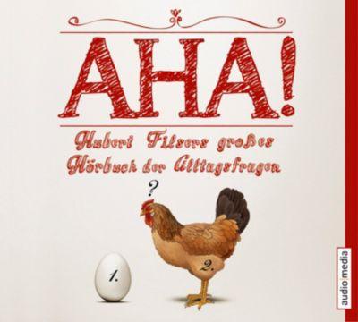 AHA! Hubert Filsers großes Buch der Alltagsfragen - Box, 8 Audio-CDs, Hubert Filser