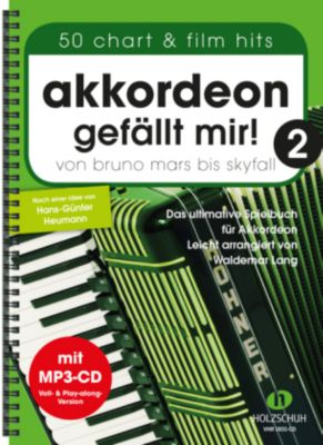 Akkordeon gefällt mir!, m. Audio-CD