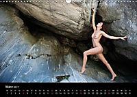 Aktfotografie auf Stein und FelsenCH-Version (Wandkalender 2018 DIN A3 quer) - Produktdetailbild 3