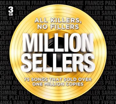 All Killers, No Fillers Million Sellers, 3 CDs, Diverse Interpreten