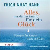 Alles, was du tun kannst für dein Glück, 1 Audio-CD, Thich Nhat Hanh