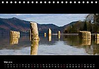 Alpenrand zwischen Isar und Lech (Tischkalender 2018 DIN A5 quer) - Produktdetailbild 5