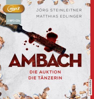 Ambach - Die Auktion / Die Tänzerin, 2 MP3-CDs, Matthias Edlinger, Jörg Steinleitner