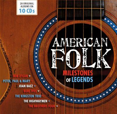American Folk, 10 CDs, Various, Dylan, Baez, Ives