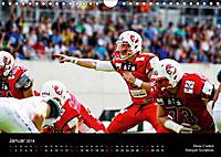 American Football - Quarterbacks im Süden Deutschlands (Wandkalender 2018 DIN A4 quer) - Produktdetailbild 1
