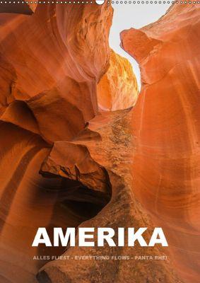 Amerika (Wandkalender 2018 DIN A2 hoch), Mona Stut