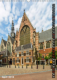 AMSTERDAM Charmantes Stadtherz (Wandkalender 2019 DIN A3 hoch) - Produktdetailbild 4