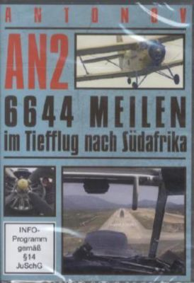 AN2 Antonov 6644 Meilen im Tiefflug nach Südafrika, 1 DVD