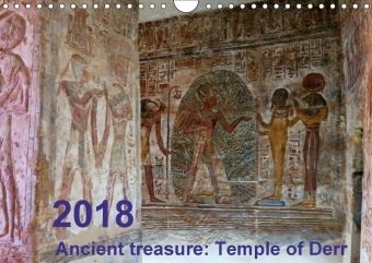 Ancient treasure: Temple of Derr (Wall Calendar 2018 DIN A4 Landscape), Ágnes Fodor
