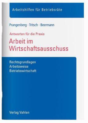 Arbeit im Wirtschaftsausschuss, Arno Prangenberg, Marius Tritsch, Lars Beermann