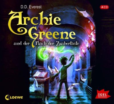 Archie Greene und der Fluch der Zaubertinte, Audio-CD, D. D. Everest