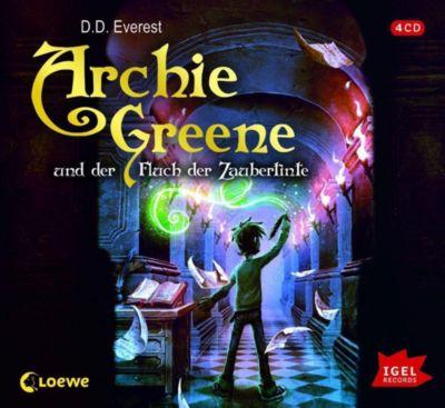 Archie Greene und der Fluch der Zaubertinte, Audio-CD, D. D. Everest