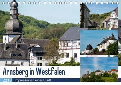 Arnsberg in Westfalen (Tischkalender 2018 DIN A5 quer), Christof Möller