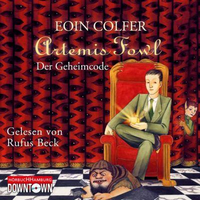 Artemis Fowl - Der Geheimcode, 5 Audio-CDs, Eoin Colfer