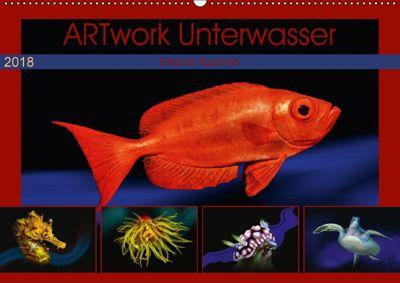 Artwork Unterwasser - Erlebnis Tauchen (Wandkalender 2018 DIN A2 quer), Dieter Gödecke