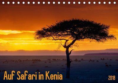 Auf Safari in Kenia 2018 (Tischkalender 2018 DIN A5 quer), Dr. Gerd-Uwe Neukamp