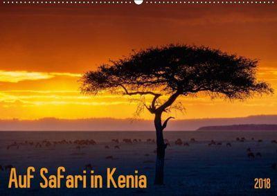 Auf Safari in Kenia 2018 (Wandkalender 2018 DIN A2 quer), Gerd-Uwe Neukamp