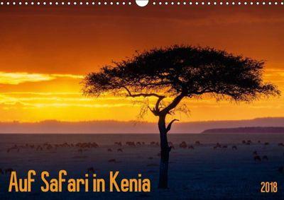 Auf Safari in Kenia 2018 (Wandkalender 2018 DIN A3 quer), Gerd-Uwe Neukamp