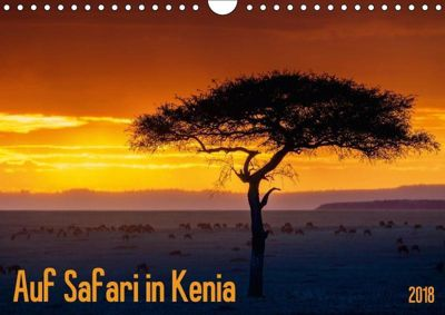 Auf Safari in Kenia 2018 (Wandkalender 2018 DIN A4 quer), Dr. Gerd-Uwe Neukamp