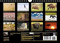 Auf Safari in Kenia 2018 (Wandkalender 2018 DIN A4 quer) - Produktdetailbild 2