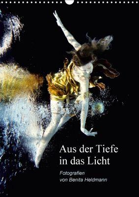 Aus der Tiefe in das Licht (Wandkalender 2018 DIN A3 hoch), Benita Heldmann