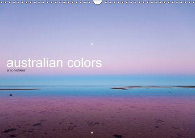 australian colors (Wandkalender 2018 DIN A3 quer), Arno Kohlem