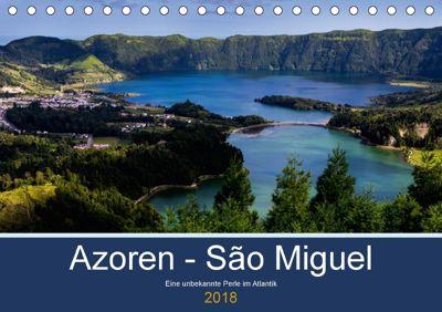 Azoren - São Miguel (Tischkalender 2018 DIN A5 quer) Dieser erfolgreiche Kalender wurde dieses Jahr mit gleichen Bildern, HM-Fotodesign