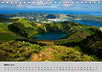 Azoren - São Miguel (Tischkalender 2018 DIN A5 quer) Dieser erfolgreiche Kalender wurde dieses Jahr mit gleichen Bildern - Produktdetailbild 3