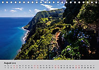 Azoren - São Miguel (Tischkalender 2018 DIN A5 quer) Dieser erfolgreiche Kalender wurde dieses Jahr mit gleichen Bildern - Produktdetailbild 8
