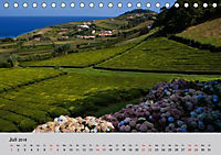 Azoren - São Miguel (Tischkalender 2018 DIN A5 quer) Dieser erfolgreiche Kalender wurde dieses Jahr mit gleichen Bildern - Produktdetailbild 7