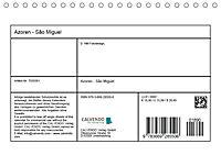 Azoren - São Miguel (Tischkalender 2018 DIN A5 quer) Dieser erfolgreiche Kalender wurde dieses Jahr mit gleichen Bildern - Produktdetailbild 13