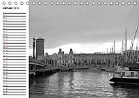 Barcelona Schwarz / Weiß Impressionen (Tischkalender 2019 DIN A5 quer) - Produktdetailbild 1