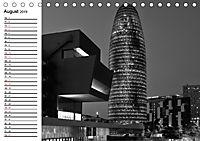 Barcelona Schwarz / Weiß Impressionen (Tischkalender 2019 DIN A5 quer) - Produktdetailbild 8
