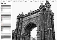 Barcelona Schwarz / Weiß Impressionen (Tischkalender 2019 DIN A5 quer) - Produktdetailbild 5