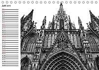 Barcelona Schwarz / Weiß Impressionen (Tischkalender 2019 DIN A5 quer) - Produktdetailbild 6