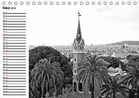 Barcelona Schwarz / Weiß Impressionen (Tischkalender 2019 DIN A5 quer) - Produktdetailbild 3