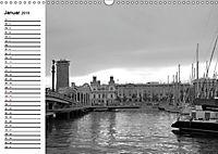 Barcelona Schwarz / Weiß Impressionen (Wandkalender 2019 DIN A3 quer) - Produktdetailbild 1
