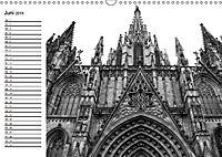 Barcelona Schwarz / Weiß Impressionen (Wandkalender 2019 DIN A3 quer) - Produktdetailbild 6