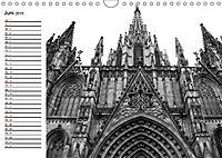 Barcelona Schwarz / Weiß Impressionen (Wandkalender 2019 DIN A4 quer) - Produktdetailbild 6
