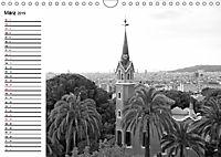 Barcelona Schwarz / Weiß Impressionen (Wandkalender 2019 DIN A4 quer) - Produktdetailbild 3