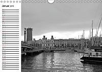 Barcelona Schwarz / Weiß Impressionen (Wandkalender 2019 DIN A4 quer) - Produktdetailbild 1